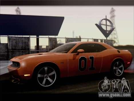 Dodge Challenger SRT8 2012 HEMI for GTA San Andreas