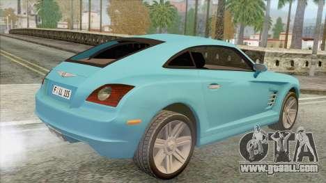 Chrysler Crossfire for GTA San Andreas left view