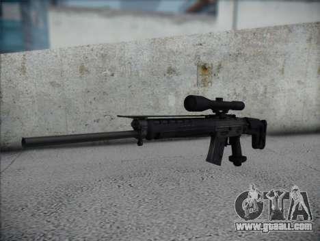Sniper Rifle HD for GTA San Andreas