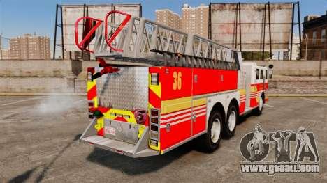 MTL Firetruck MDH1000 LCFR [ELS] for GTA 4 left view