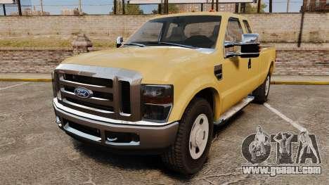 Ford F-350 Super Duty 2011 for GTA 4