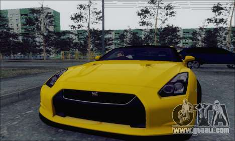 Nissan GT-R Spec V for GTA San Andreas left view