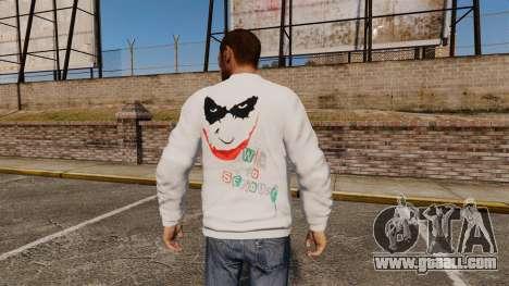 Sweater-The Joker- for GTA 4 second screenshot
