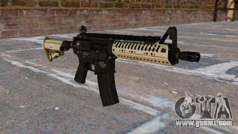 Automatic carbine M4 VLTOR for GTA 4