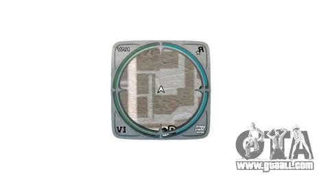 Frame for radar for GTA 4