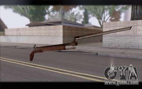 Musket for GTA San Andreas