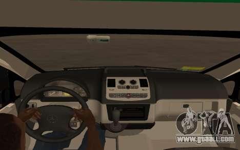 Mercedes-Benz Vito Ambulancia ACHS 2012 for GTA San Andreas back left view