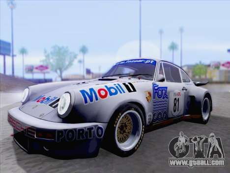 Porsche 911 RSR 3.3 skinpack 1 for GTA San Andreas left view