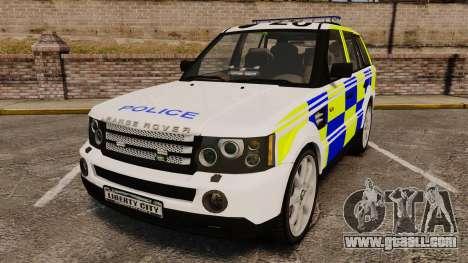 Range Rover Sport Metropolitan Police [ELS] for GTA 4