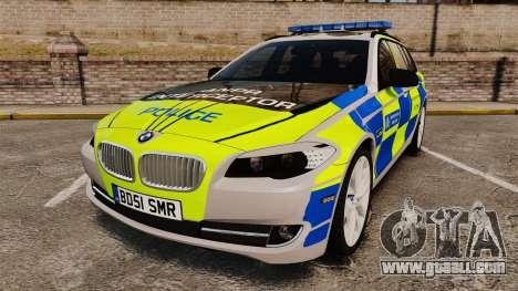 BMW 550d Touring Metropolitan Police [ELS] for GTA 4
