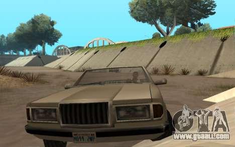 Admiral Cabrio for GTA San Andreas right view