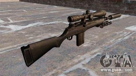 The M14 semi-automatic rifle for GTA 4 second screenshot