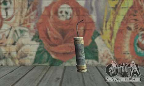 A Stick of dynamite from the Metro 2033 for GTA San Andreas