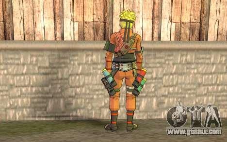 Naruto Rajdžinu for GTA San Andreas second screenshot