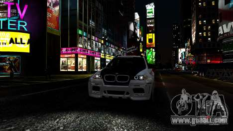 BMW X6 M Hamann 2013 Vossen for GTA 4 interior