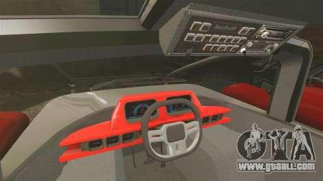 Pro Track SR2 Firetruck [ELS] for GTA 4 back view