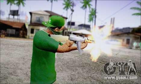Lamar Davis GTA V for GTA San Andreas second screenshot
