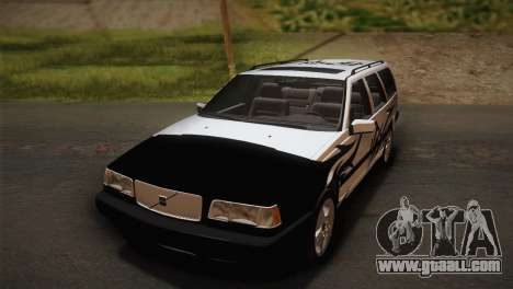 Volvo 850 Estate Turbo 1994 for GTA San Andreas back view