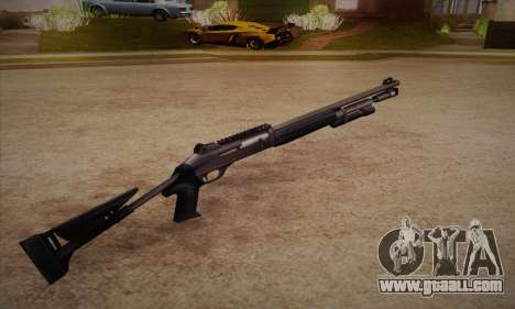 The shotgun from the Left 4 Dead 2 for GTA San Andreas second screenshot