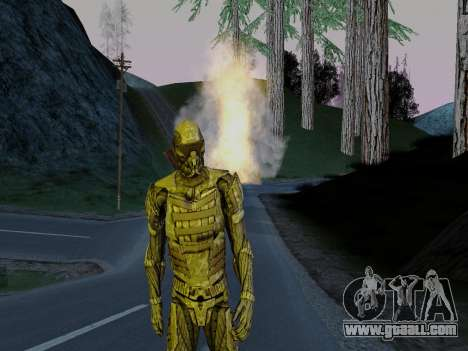Korean Nano-suit of Crysis for GTA San Andreas