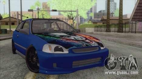 Honda Civic Tuning for GTA San Andreas