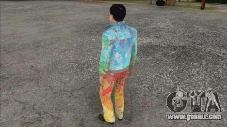 Vito Skalleta in the form of Sochi 2014 for GTA San Andreas third screenshot