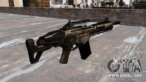 Assault rifle SCAR for GTA 4 second screenshot
