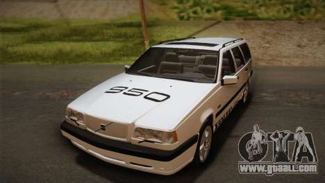 Volvo 850 Estate Turbo 1994 for GTA San Andreas inner view