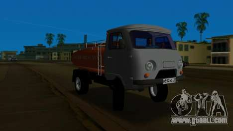 UAZ 465 Truck for GTA Vice City left view