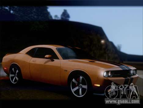 Dodge Challenger SRT8 2012 HEMI for GTA San Andreas