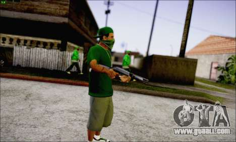 Lamar Davis GTA V for GTA San Andreas third screenshot