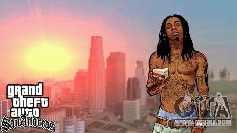Loadscreens American Rap for GTA San Andreas second screenshot