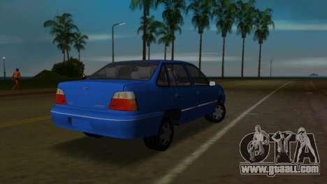 Daewoo Cielo for GTA Vice City left view