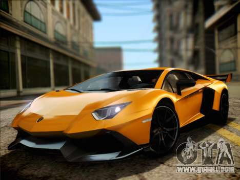 Lamborghini Aventador LP720 for GTA San Andreas back left view