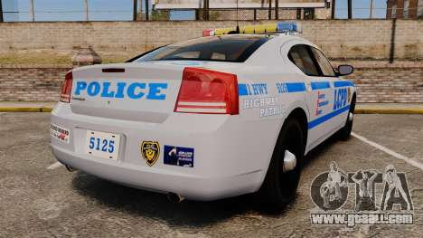 Dodge Charger LCPD [ELS] for GTA 4 back left view