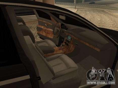Maybach 62 V2.0 for GTA San Andreas right view