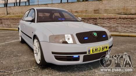Skoda Superb 2006 Unmarked Police [ELS] for GTA 4