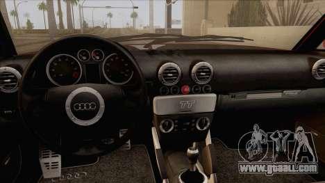 Audi TT 1.8T for GTA San Andreas right view
