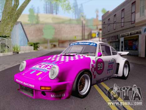 Porsche 911 RSR 3.3 skinpack 6 for GTA San Andreas left view