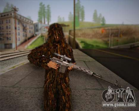 The sniper from Arma 2 skin for GTA San Andreas forth screenshot