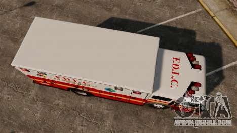 Hazmat Truck FDLC [ELS] for GTA 4 right view