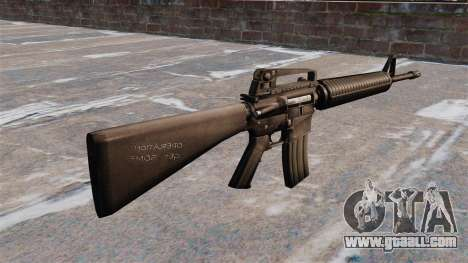 Semi-automatic AR-15 rifle Armlite for GTA 4 second screenshot
