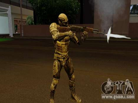 Korean Nano-suit of Crysis for GTA San Andreas fifth screenshot
