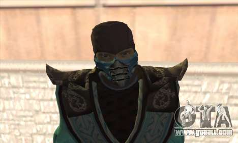 Sub Zero for GTA San Andreas third screenshot