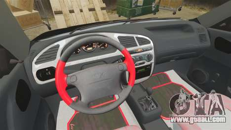 FSO Lanos Plus 2007 Limited Version for GTA 4 inner view