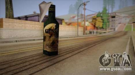 Molotov cocktail of Max Payne for GTA San Andreas second screenshot