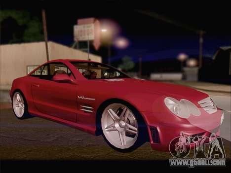 Mercedes SL500 v2 for GTA San Andreas left view