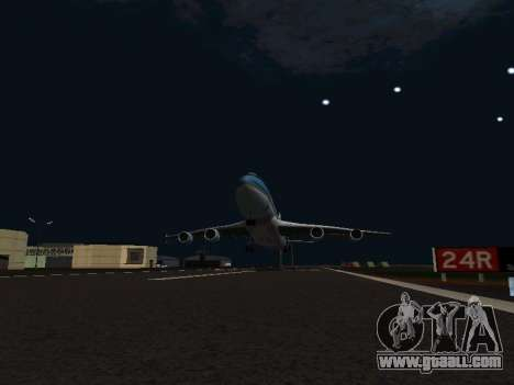Boeing-747-400 Airforce one for GTA San Andreas inner view