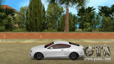 Bentley Continental Extremesports for GTA Vice City left view