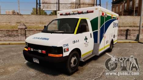 Brute Alberta Health Services Ambulance [ELS] for GTA 4